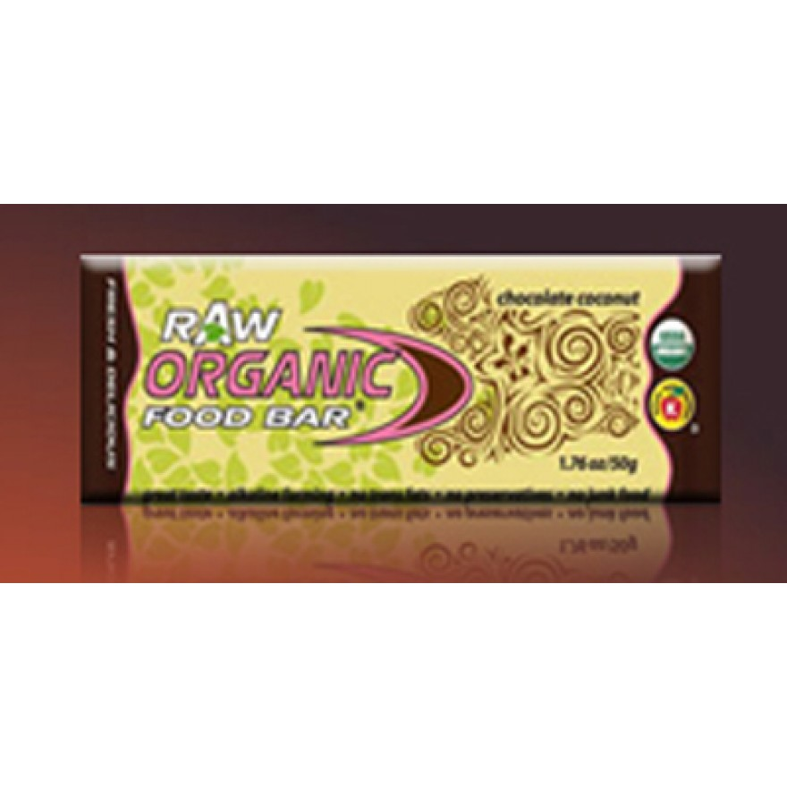 Organic Food Bar, Chocolate Coconut, 50g