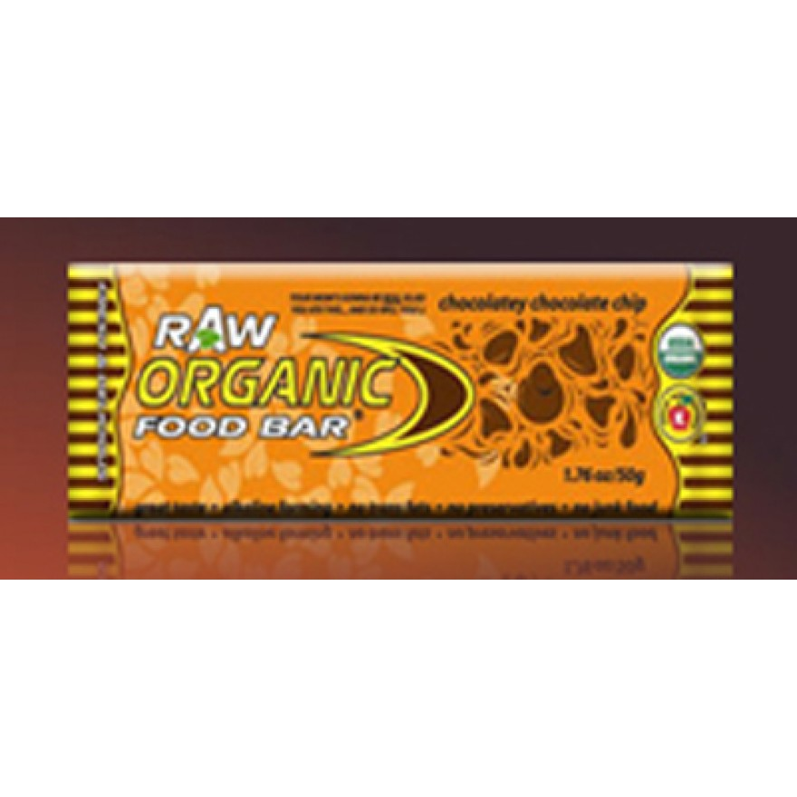 Organic Food Bar, Chocolatey Chocolat Chip, 50g