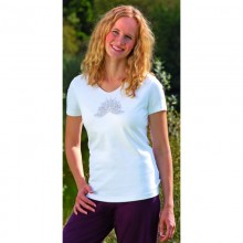Spirit of OM T-Shirt Kurzarm - Ananda-Lotus